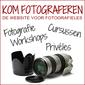 KOM FOTOGRAFEREN logo