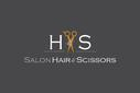 Salon Hair & Scissors logo