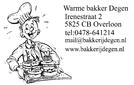 Bakkerij Degen logo