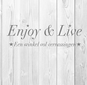 Enjoy & Live logo