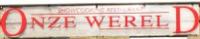 Restaurant Onze Wereld logo