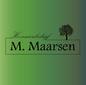 Hoveniersbedrijf M Maarsen logo