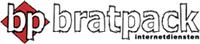 Bratpack internetdiensten logo