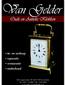 Van Gelder Antieke Klokken logo