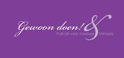 Massagepraktijk Gewoon Doen! logo