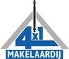 4x1 Makelaardij logo