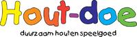 Hout-doe, duurzaam houten speelgoed logo